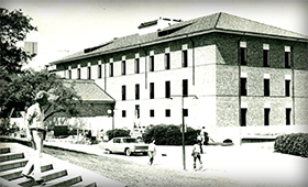 1978 – The South Wing of Welch Hall Opens.
