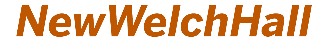 New Welch Hall Logo